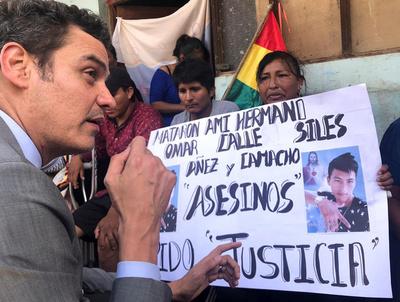 El líder de la cruzada contra Evo Morales se lanza a la Presidencia