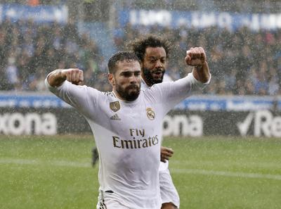 Real Madrid se coloca en lo alto de la tabla