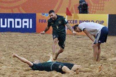 "Italia es finalista del Mundial Beach Soccer de FIFA ""Paraguay 2019"""