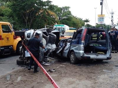 Confirman otro fallecido en accidente sobre la Transchaco