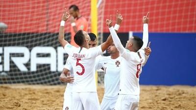 Italia y Portugal disputan la final de fútbol de playa
