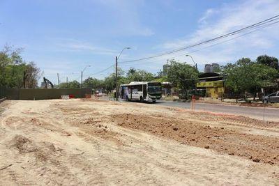 Corredor Botánico: liberan primeros 100 metros de la avenida Primer Presidente