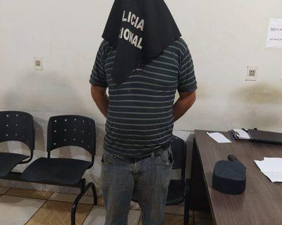 Intentó robar una licuadora de un local y quedó detenido