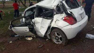 Dos niños fallecieron en un percance rutero en San José de los Arroyos