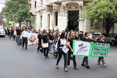 Ministerio Público continúa huelga y anuncia el cierre de varias fiscalías