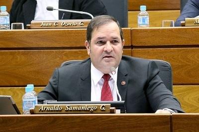 Anuncian candidatura de Arnaldo Samaniego para presidencia de la ANR