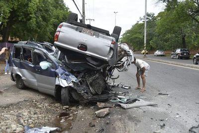 5 muertos dejó trágico accidente en zona del Jardín Botánico