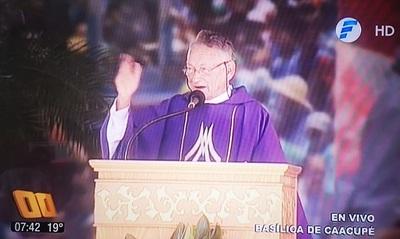 Monseñor asegura que politiquería goza de buena salud en nuestro país