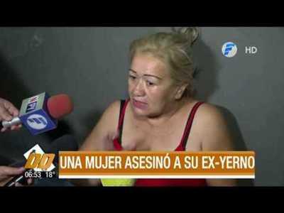 Una mujer asesinó a su ex yerno