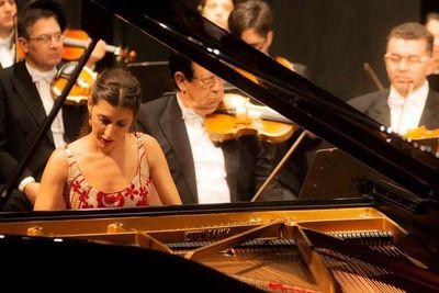 Chiara D'Odorico actúa en Barcelona