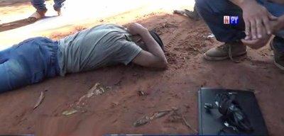 Justicia por manos propias: Vecinos capturan a presunto ladrón