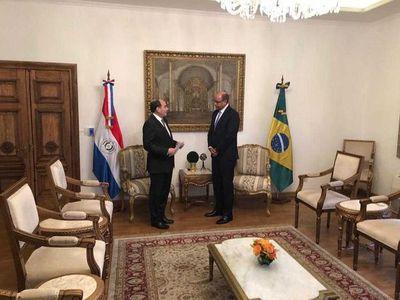 Llegó al país el nuevo embajador de Brasil Flavio Damico