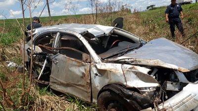 Joven policía que transportaba supuesta droga, muere en percance automovilístico