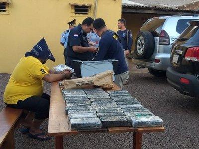 Detienen a un hombre con cocaína y crac en Pedro Juan Caballero