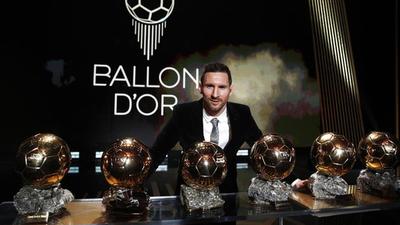 Leo Messi gana su sexto Balón de Oro