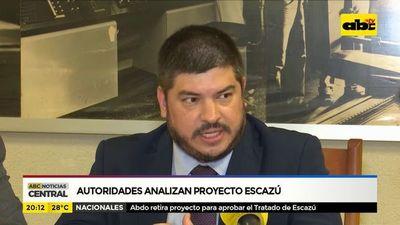 Autoridades analizan proyecto Escazú