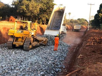Labores de asfaltado del tramo Itauguá – Potrero concluirán este enero