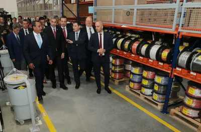 Firma alemana apuesta por Paraguay e inaugura fábrica de autopartes en Luque