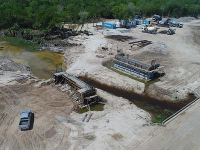 Iniciará montaje de vigas para el segundo puente del Corredor Bioceánico