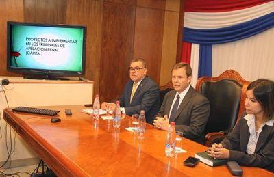 Tribunales de Alzada contarán con el Oficio Judicial Electrónico