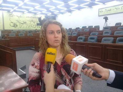 """""""Ulises Quintana debe renunciar"""", dijo la diputada Rocío Vallejo"""