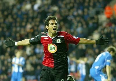 Blackburn recuerda un hat-trick de Roque Santa Cruz