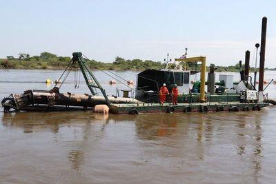 Baja del río Paraguay en Pilar está superada.