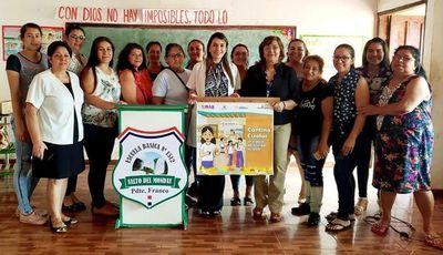 Orientan a cantineros sobre alimentación adecuada en las escuelas