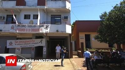 """FUNCIONARIOS FISCALES INSISTEN CON EL """"NO AL RECORTE PRESUPUESTARIO"""""""