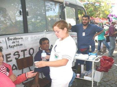 1.265 profesionales de salud atenderán a peregrinos en Caacupé