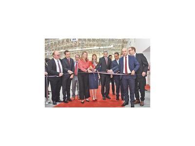 Firma alemana inauguró su  planta industrial en Luque