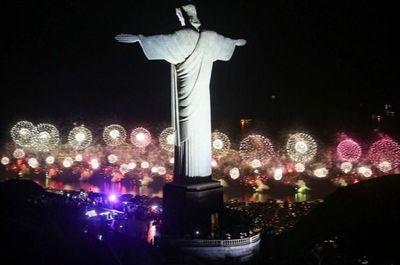 Año nuevo en Copacabana