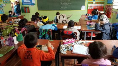 Almuerzo escolar en riesgo en San Lorenzo