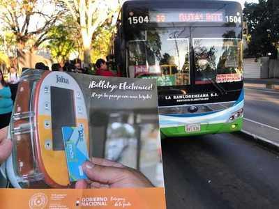 246.000 viajes en el primer mes de implementación del Billetaje Electrónico