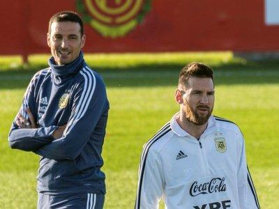 Scaloni espera que la Copa América de 2020 no sea la última de Messi