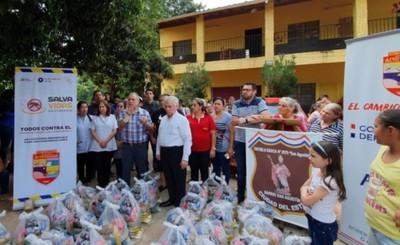 Día de gobierno departamental  en el barrio San Agustín de CDE