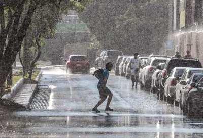 Jornada cálida, con lluvias y tormentas en todo el país