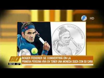 Roger Federer tendrá su propia moneda