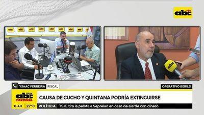 """Causa de """"Cucho"""" y Quintana podría extinguirse"""
