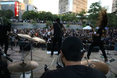 Metal Feria Fest en la Plaza Uruguaya