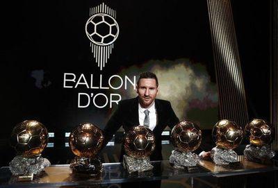 Messi se baña en oro y es coronado por sexta vez como mejor del mundo