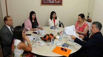 Reunión de magistrados con analista internacional