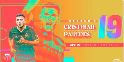 Cristhian Paredes, uno de los mejores Sub 22 de la MLS