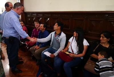 Senador se reúne con paraguayos residentes en buenos Aires