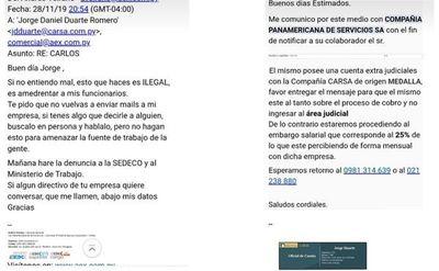 SEDECO abre investigación contra empresa de cobranzas por coaccionar a trabajadores