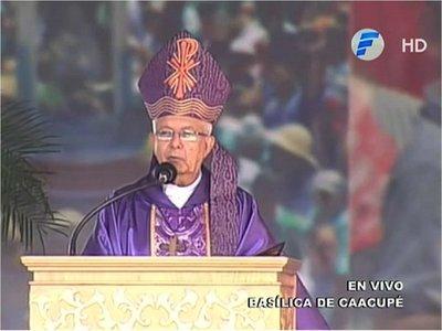 Caacupé 2019: Obispo reprocha la desigualdad social y la mala distribución de la tierra