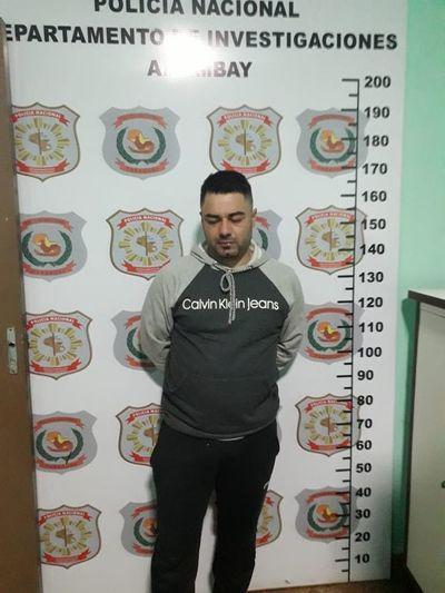 Supuesto integrante del PCC, detenido en Pedro Juan Caballero