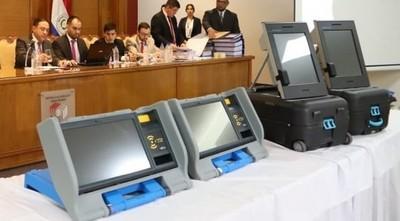 TSJE empieza pruebas de máquinas de votación