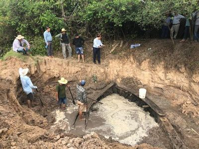 Rescatarán restos de navío hundido de la Guerra Grande que fueron hallados en Cordillera
