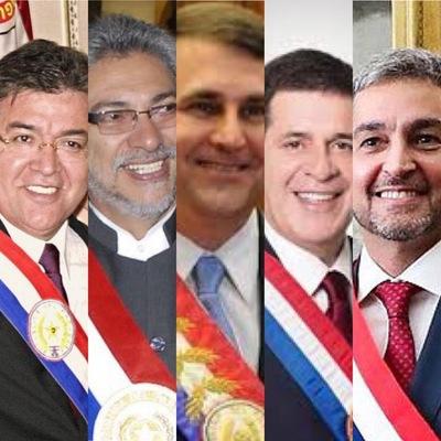 Los presidentes y su concurrencia a la misa central de Caacupé